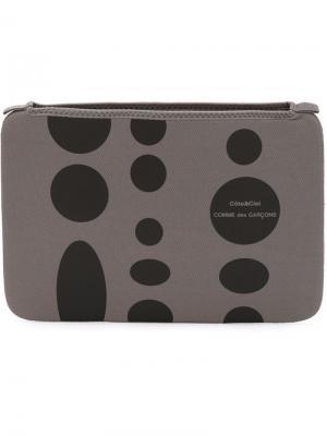 Чехол для iPad Comme des Garçons x Côte&Ciel Wallet. Цвет: серый