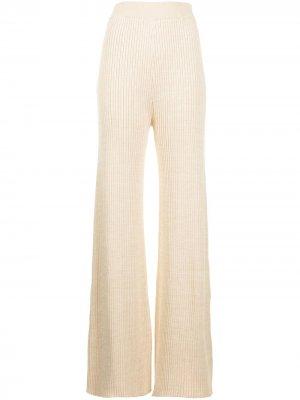Расклешенные брюки Rio Anna Quan. Цвет: коричневый