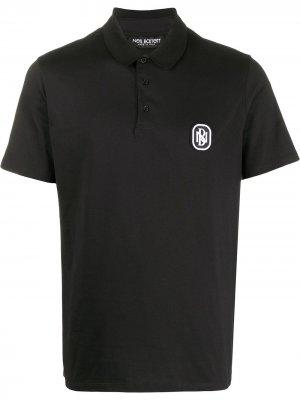 Рубашка-поло с логотипом Neil Barrett. Цвет: черный