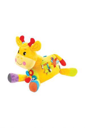Развивающая игрушка ЖИРАФИКИ. Цвет: желтый