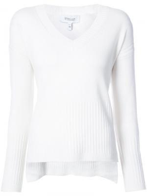 V-neck cashmere jumper Derek Lam 10 Crosby. Цвет: нейтральные цвета