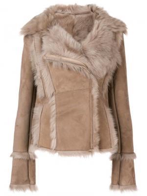 Куртка с большим воротником S.W.O.R.D 6.6.44. Цвет: нейтральные цвета