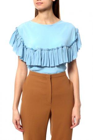 Блуза Marni. Цвет: голубой