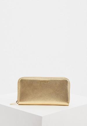 Кошелек Coccinelle. Цвет: золотой