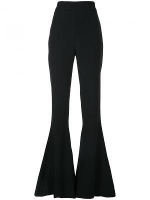 Расклешенные брюки слим Antonio Berardi. Цвет: чёрный