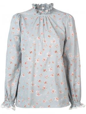 Japenese boho blouse By Timo. Цвет: синий