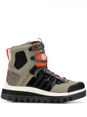 Ботинки Eulampis adidas by Stella McCartney. Цвет: зеленый