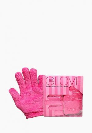 Перчатки Makeup Eraser. Цвет: розовый