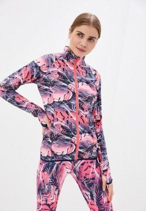 Куртка спортивная Rukka. Цвет: разноцветный