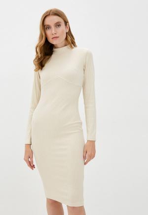 Платье Allegri. Цвет: бежевый