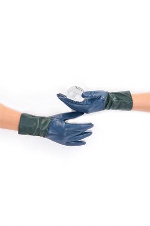 Перчатки Michel Katana. Цвет: серо-синий