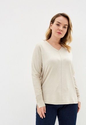 Пуловер Elena Miro. Цвет: бежевый