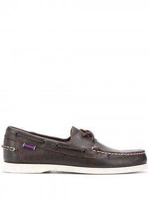 Топсайдеры со шнуровкой Sebago. Цвет: коричневый