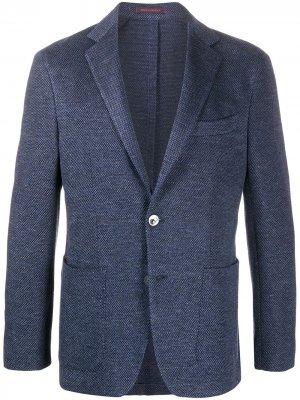 Легкий пиджак The Gigi. Цвет: синий