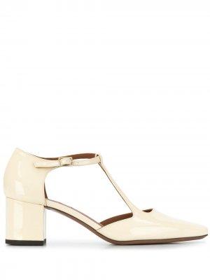 LAutre Chose туфли с ремешком на щиколотке L'Autre. Цвет: нейтральные цвета