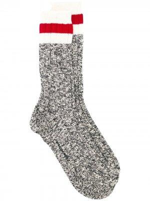 Носки с полосками Dsquared2. Цвет: серый