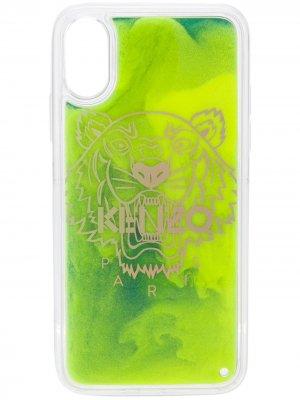 Чехол для телефона с логотипом Kenzo. Цвет: желтый
