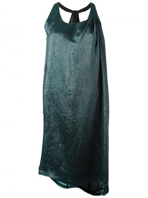 Платье Esk Minimarket. Цвет: зеленый