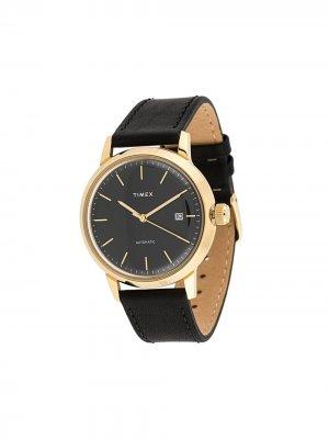 Наручные часы Marlin Automatic 40mm TIMEX. Цвет: черный