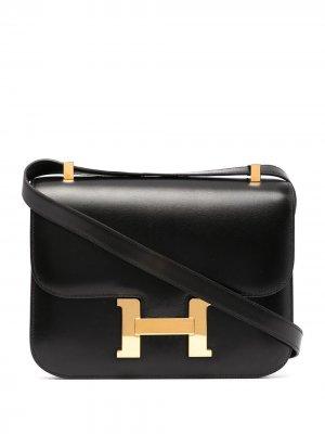 Сумка на плечо Constance 1995-го года Hermès. Цвет: черный