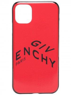 Чехол для iPhone 11 с логотипом Givenchy. Цвет: красный