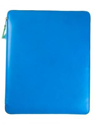 Чехол Super Fluo для ipad Comme Des Garçons Wallet. Цвет: синий