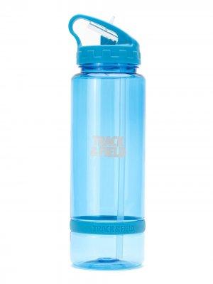 Бутылка для воды Tritan Gym Track & Field. Цвет: синий