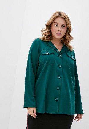 Рубашка Svesta. Цвет: зеленый