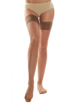 Чулки Mademoiselle. Цвет: коричневый