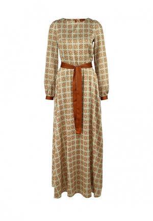 Платье Анна Чапман. Цвет: разноцветный