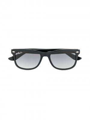 Солнцезащитные очки New Wayfarer RAY-BAN JUNIOR. Цвет: черный