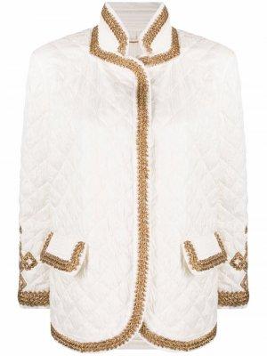 Стеганая куртка Ermanno Scervino. Цвет: нейтральные цвета