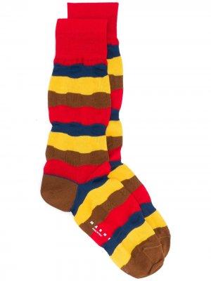 Носки в полоску Marni. Цвет: желтый