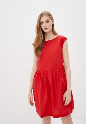 Платье Woolrich. Цвет: красный