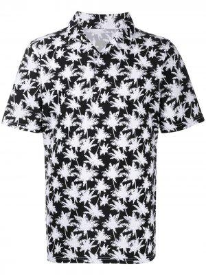 Рубашка поло с принтом Hydrogen. Цвет: черный