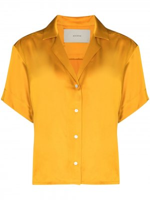 Рубашка Prague Asceno. Цвет: желтый