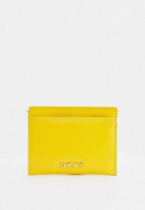 Кредитница DKNY. Цвет: желтый