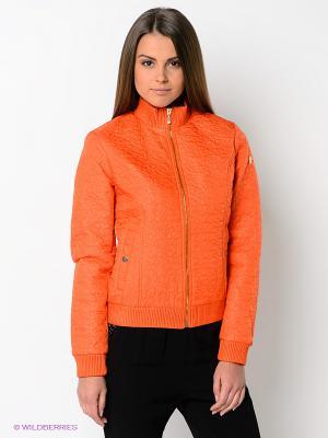 Куртка CONVER. Цвет: оранжевый