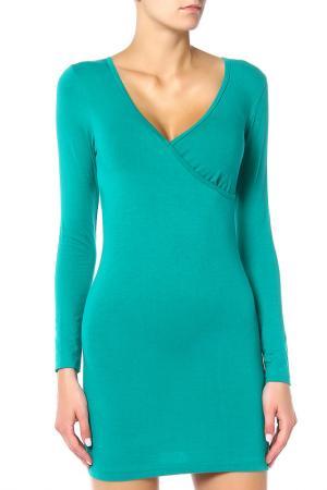 Платье American Apparel. Цвет: зеленый