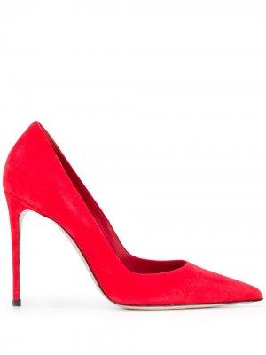Туфли-лодочки Eva на шпильке Le Silla. Цвет: красный