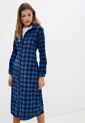 Платье Compania Fantastica. Цвет: синий