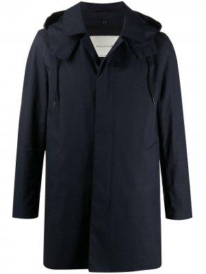 Легкая куртка на молнии Mackintosh. Цвет: синий