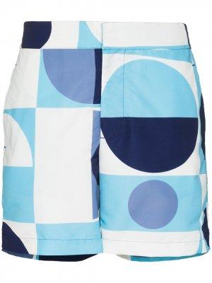 Плавки-шорты Copic Frescobol Carioca. Цвет: синий
