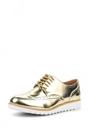 Ботинки Anesia. Цвет: золотой
