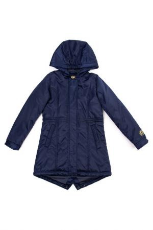 Пальто PlayToday. Цвет: темно-синий