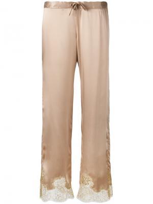 Пижамные брюки Gina Gilda & Pearl. Цвет: телесный