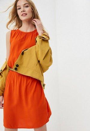Платье b.young. Цвет: оранжевый
