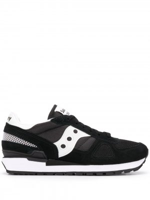 Кроссовки на шнуровке Saucony. Цвет: черный