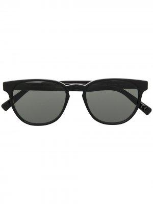 Солнцезащитные очки в круглой оправе Retrosuperfuture. Цвет: черный