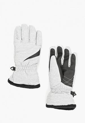 Перчатки Ziener. Цвет: серый